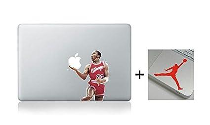 official photos 9353a 2d955 Get 2 Stickers-A Free Wrist Sticker! Michael Jordan Slam Dunk Nba  Basketball Cartoon