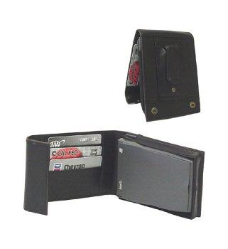 WESC Black Leather Prestige Handheld - Leather Case Apc