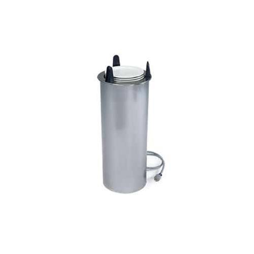 Lakeside 6008 Tubular Drop in Heated Dish Dispenser, 8-1/8