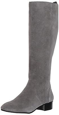 Nine West Women's OLWYNEE Suede Knee High Boot