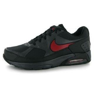 Nike Zapatillas Casual Para Hombre Cordónes Entrenadores Deportivos en Negro