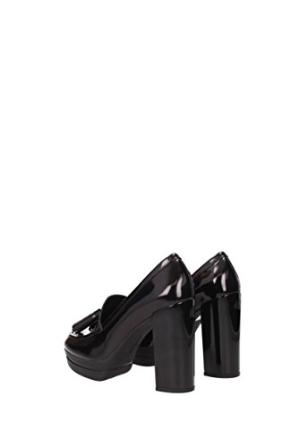 Hogan vestir de negro para de mujer Zapatos Piel xOxUqrECw