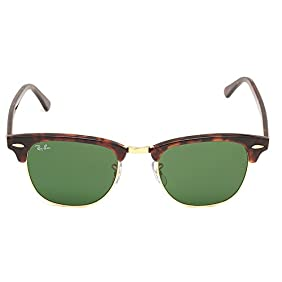 Ray Ban Sunglasses Clubmaster 3016 (Green Lens)