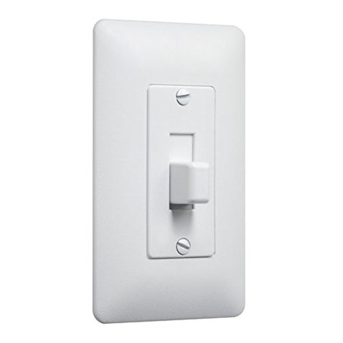 Taymac 5070W Paintable Cover-Up Wall Plate Frame for Toggle Switch, White, (White Toggle Switchplate)