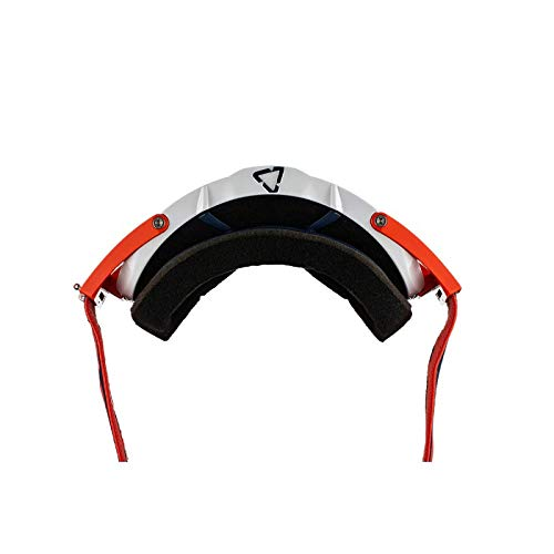 Leatt Velocity 6.5 Roll-Off Adult Off-Road Motorcycle Goggles Ink//Orange Clear//One Size
