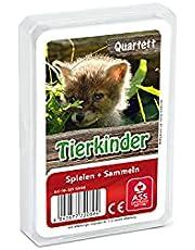 ASS Altenburger 22572089 kvartett djurbarn, kortspel