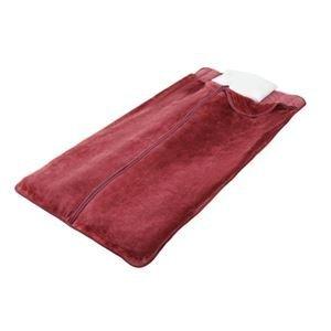 遠赤綿入りあったか寝袋タイプボリューム敷パッド2色組(ブラウン+ワイン)【代引不可】 B01FP6ZRCE