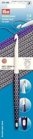 Prym Ergonomics uncinetto per lana,7/mm