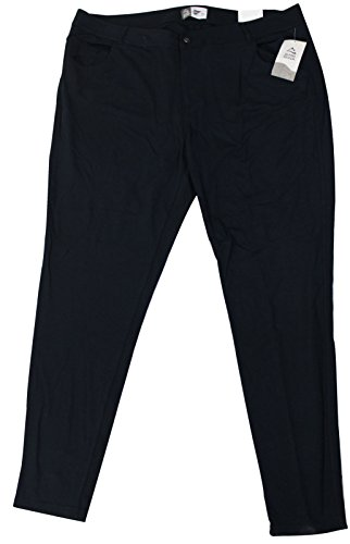 - Alpine Design Women's Casual Plus Size Jeggings, Black, 68% Rayon, 27% Nylon, 5% Spandex (18W)