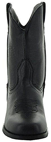 Country Love Boots Little Kids Rugged Square Toe Cowboy Boots 11 Black