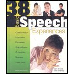 : 38 Basic Speech Experiences