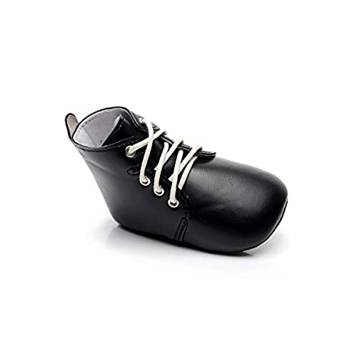 c81fe44bb5e3 HONGTEYA Hard soled Floral Lace Up Baby Boys or Girls Sneakers Infant Crib  Moccasins Shoes