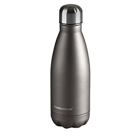 Morphy Richards - Deportes Botella, 350 ml-Titanium, Acero ...