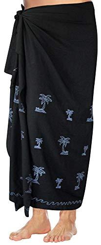 LA LEELA Rayon Solid Surf Beach wear lounge Wrap Mens towel 72