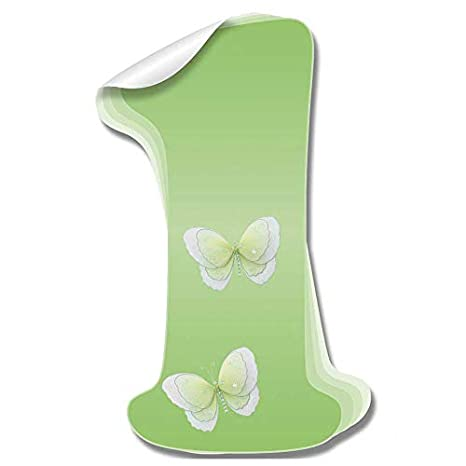 Amazon.com: pared letras Verde Mariposa decorativos pared ...