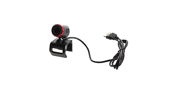 Garciasia USB 2.0 Clip Webcam Cámara Web con micrófono Mic para PC portátil