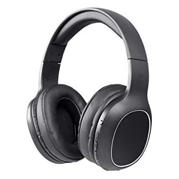 086709f122c740 Monoprice BT-200 Bluetooth Over Ear Headphone - Black | Lightweight,  Designed for Comfort, On Ear Controls & Built-in Microphone