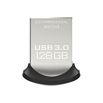 SanDisk Ultra Fit 128GB USB 3.0 Flash Drive (SDCZ43-128G-G46)