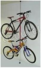 Soporte para 2 bicicletas, suelo, techo: Amazon.es: Deportes y ...