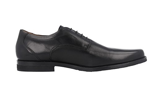 MANZ-fermo-business chaussures homme noir chaussures en matelas grande taille