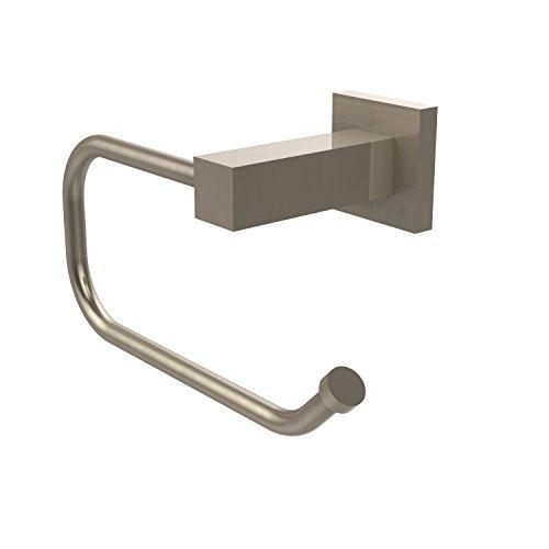 (Allied Brass MT-24E-PEW Montero Collection Euro Style Toilet Tissue Holder Antique Pewter)