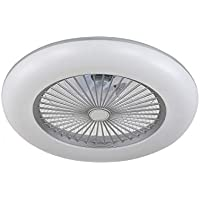 ACTiO LED 770011-ASL lámpara ventilador de techo luz led 60W IKARO plata mando…