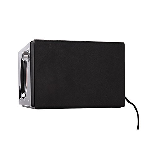 Swans Speakers - M10B - Powered 2.1 Computer Speakers - Surround Sound - Near-Field Speakers - Bookshelf Speakers - Black by Swans Speakers (Image #2)