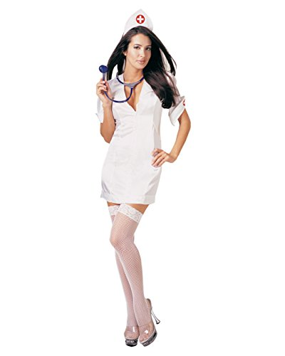 Sexy Womens Nurse Theatre Costumes Adult Sizes Sizes: (Dr Girlfriend Costume For Sale)