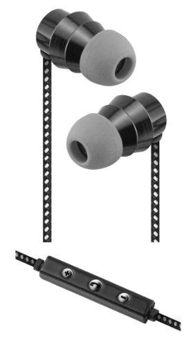 xtraem H4000 Pro Series Premium Cloth Cord Earbuds (Sentry Headphones Consumer)