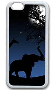 Animals Return Home DIY Hard White iphone 6 plus Case Perfect By Custom Service