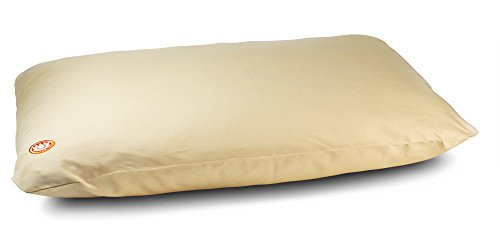 Pure Life Meditation Cushion - Extra Thick Zabuton Mat (Cream)