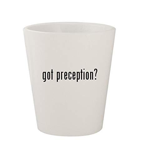 got preception? - Ceramic White 1.5oz Shot ()