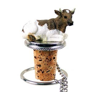 Conversation Concepts Guernsey Bull Bottle Stopper