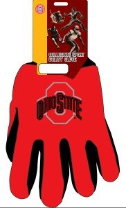 Ohio State University Memorabilia (Ohio State Two-Tone Gloves)