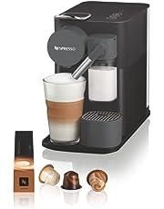De'Longhi Lattissima One Evo koffiezetapparaat voor slechts één gebruik, automatische melkopschuimer, cappuccino en latte, EN510.B, 1450 W, zwart