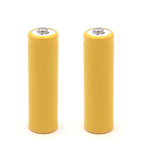 AuKvi AA Battery Placeholder Cylinder,2-Pack