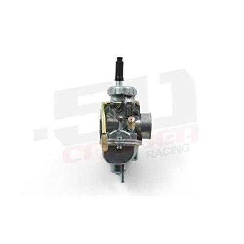 (50 Caliber Racing Upgraded 20mm Carburetor - Fits 88cc+ Big Bore Honda CRF50, XR50, Z50, CRF70, and Other Pit Bikes)