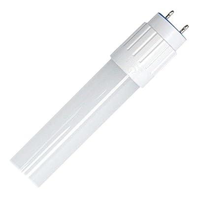 "Green Creative 10T8G4/2F/850/DIR LED Light Tube, 24"" T8 G13 Base 10W (17W Equivalent) - DIRect Ballast - 5000K - 1100 Lumens"