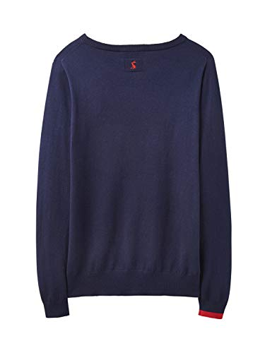 Knitted Design Navy Miranda Character Casual Joules Jumper Dachshund Womens IPSxvRqqnw