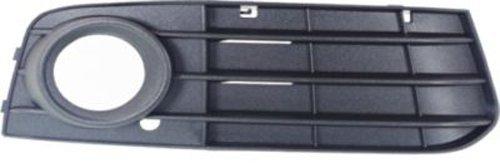 Fog Light Grille - Crash Parts Plus Passenger Side Black Grille Assembly for 2009-2012 Audi A4, A4 Quattro AU1039119