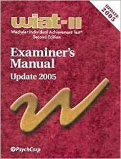 wiat iii technical manual with adult norms cd 0158984854 rh amazon com wiat iii examiner's manual pdf wiat 3 technical manual