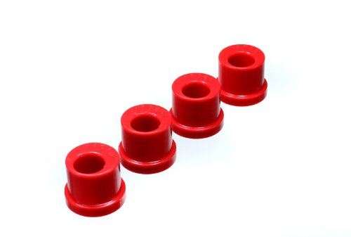 Nice 1985-2004 Ford Mustang Rack And Pinion Bushing Set Offset For Lowered Vehicles Only Red hot sale