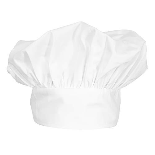 (ChefsCloset Poplin Chef Hat (White))