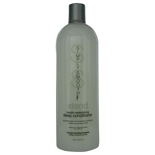 Simply Smooth Xtend Keratin Replenishing Deep Conditioner --Sodium Chloride Free 33.8 oz by SIMPLY SMOOTH