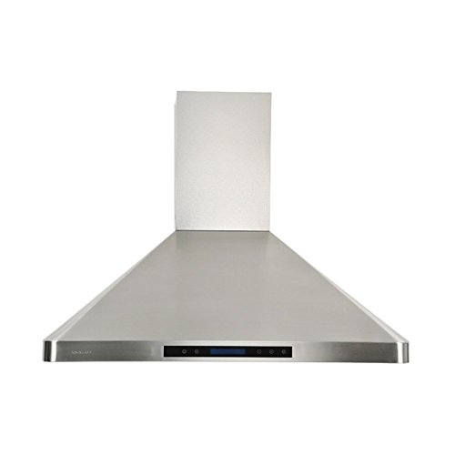 CAVALIERE AP238 PS31 36 Wall Mounted Stainless Steel Kitchen Range Hood  With Remote Control 900 CFM