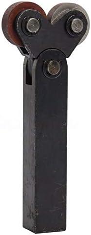 NO LOGO Rändelwerkzeug Set 26mm Black Steel Doppelrad 1,5 mm Pitch Linear Knurl Rändelwerkzeug Lathe Cutter Heben