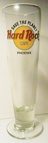 HARD ROCK CAFE PHOENIX Footed Pilsner Glass