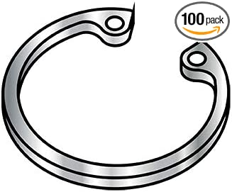 Box Qty 100 BC-118RISS by Shorpioen 1.181 Internal Retaining Ring Stainless Steel