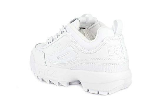 Ii White Scarpa Fila Disruptor Ginnastica Premium Da Donna w6Pqq0RIx