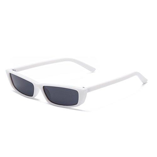 Gray Soleil Black Lunettes Gray Lunettes White Femmes Black Sunglasses Nouvelles Couleur Soleil Box de européennes américaines Petites Lack Box Lunettes et Générique de vUwqBSxT